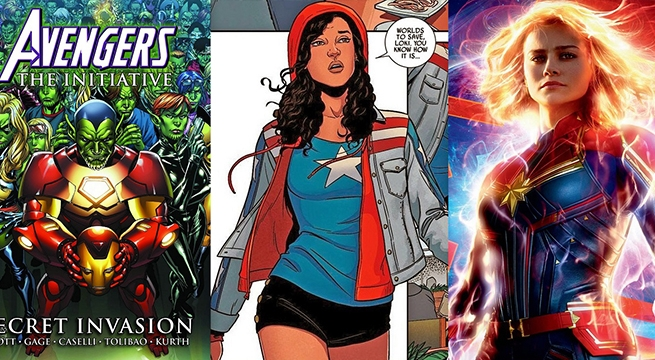 MARVEL STUDIOS: Secret Invasion, Captain Marvel 2, Miss America, Moon Knight y más!