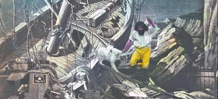 Cómo Thomas Edison usó la piratería para arruinar al icónico cineasta Georges Méliès.