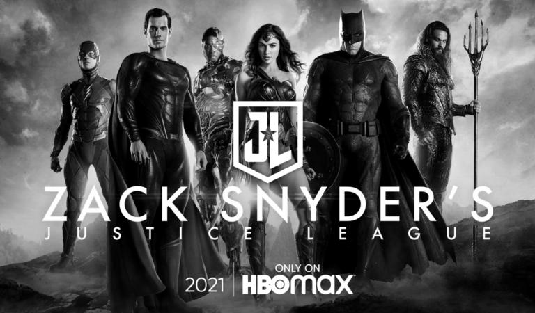 ¡OFICIAL! El SnyderCut de la Justice League será lanzado en HBO Max en 2021.