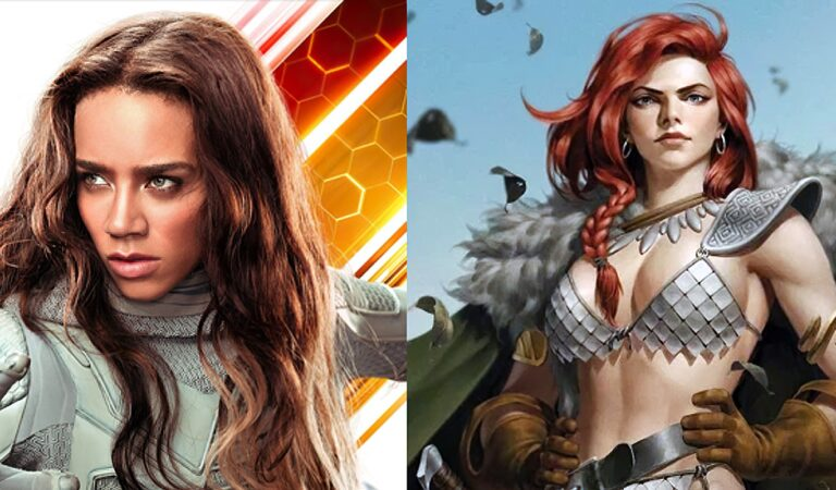 Hannah John-Kamen será Red Sonja.